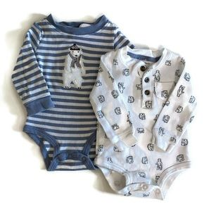 🌱2 for $15🌱 Carter's set of 2 onesies